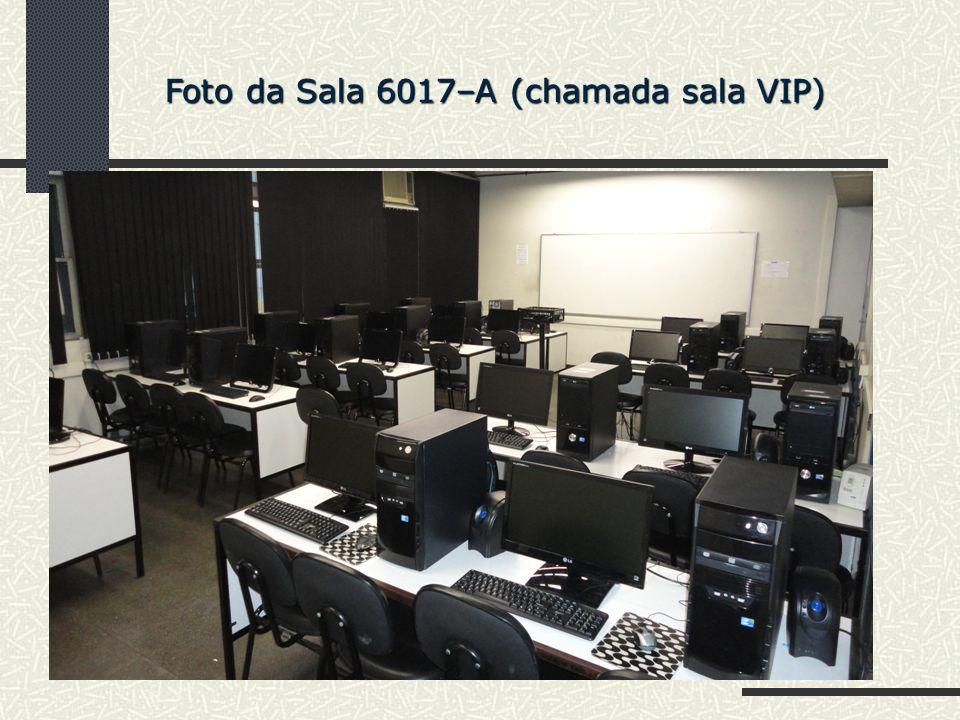 Foto da Sala 6017–A (chamada sala VIP)