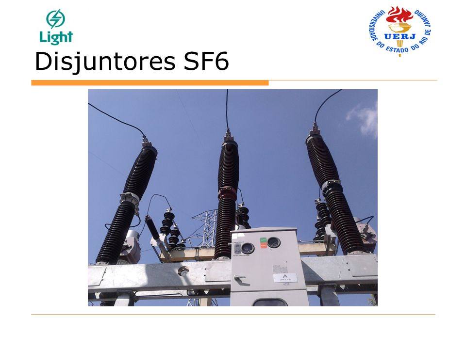 Disjuntores SF6