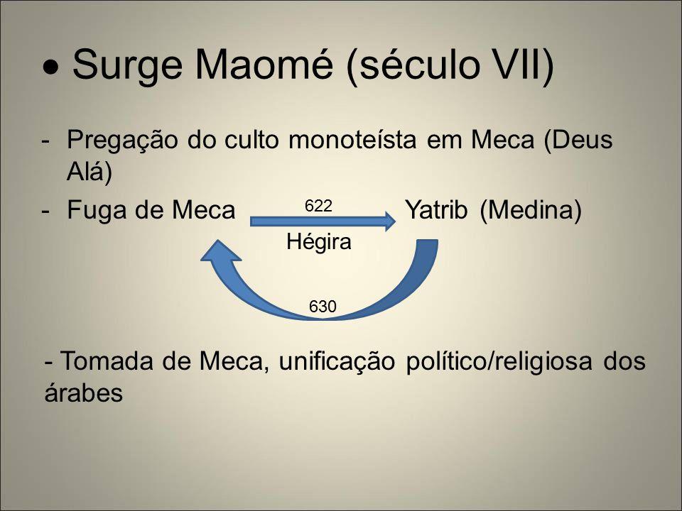  Surge Maomé (século VII)