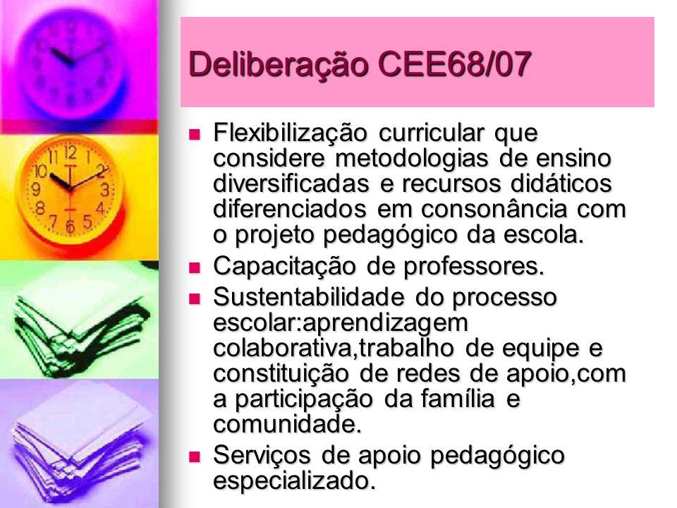 Deliberação CEE68/07