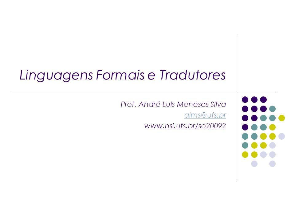 Linguagens Formais e Tradutores