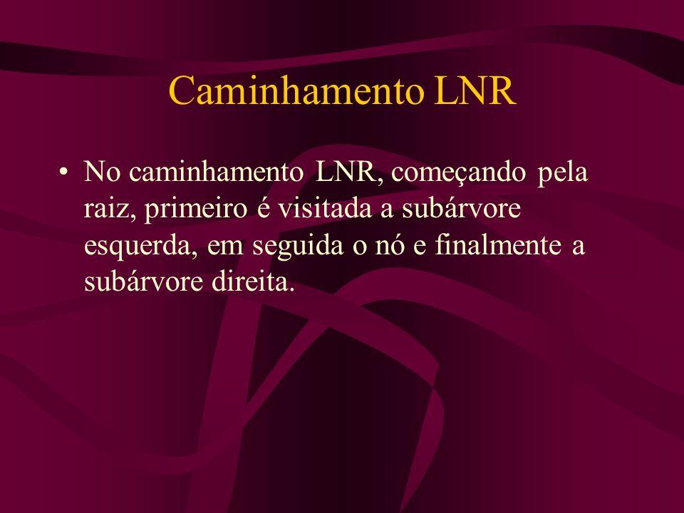 Caminhamento LNR