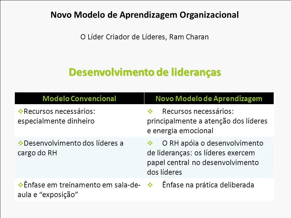 Desenvolvimento de lideranças