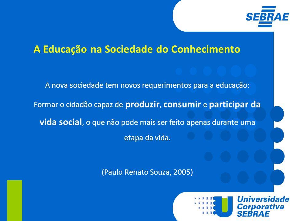 A Educação na Sociedade do Conhecimento