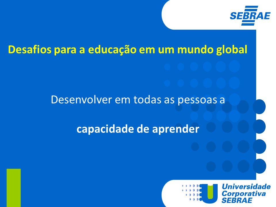 Desafios para a educação em um mundo global