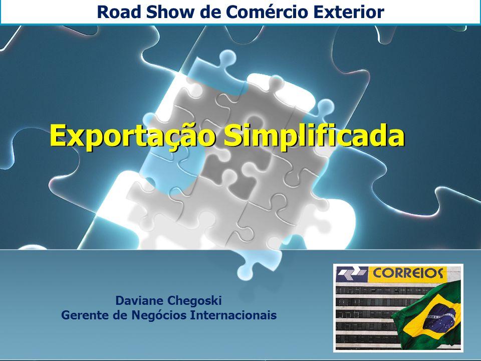 Road Show de Comércio Exterior