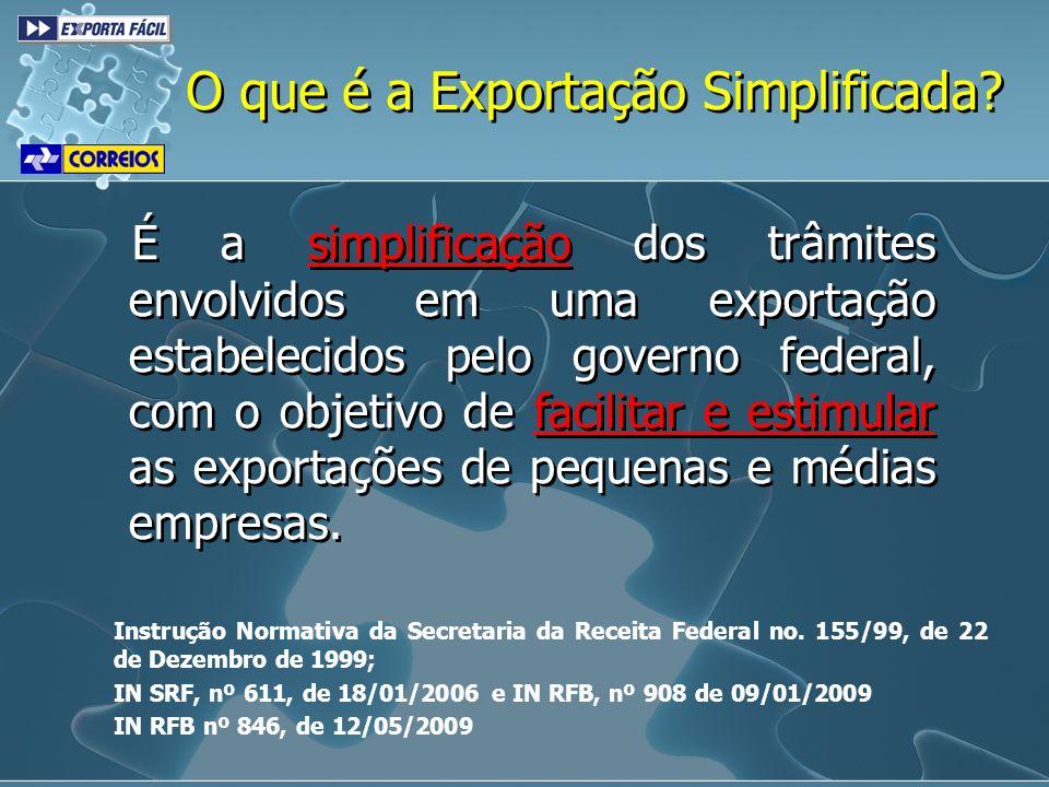 O que é a Exportação Simplificada