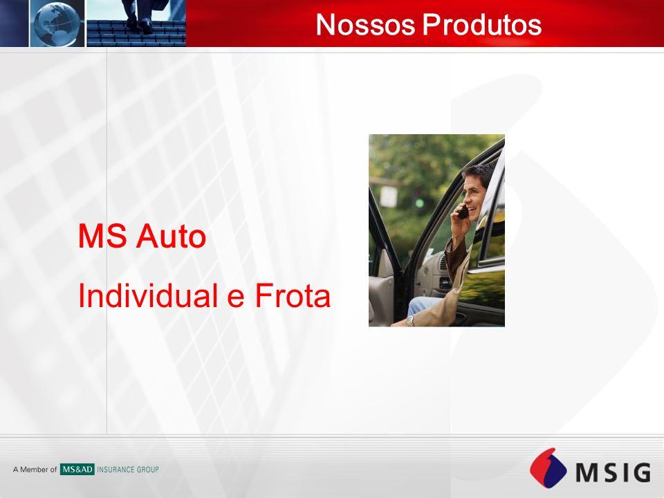 Nossos Produtos MS Auto Individual e Frota