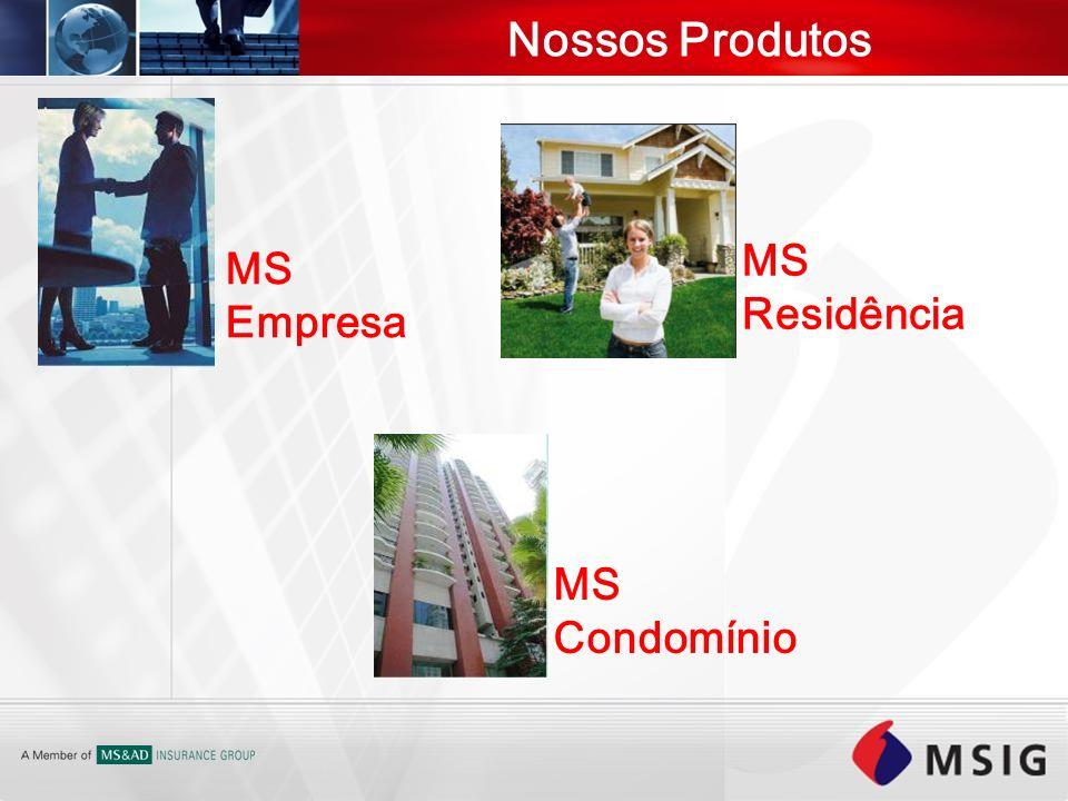 Nossos Produtos MS Residência MS Empresa MS Condomínio