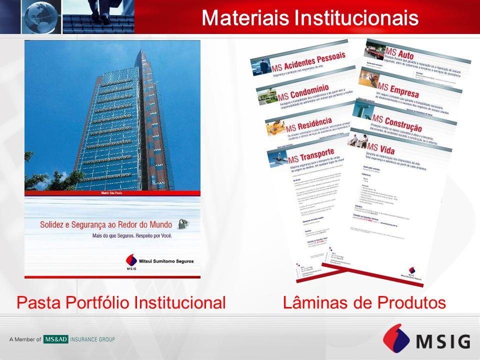 Materiais Institucionais