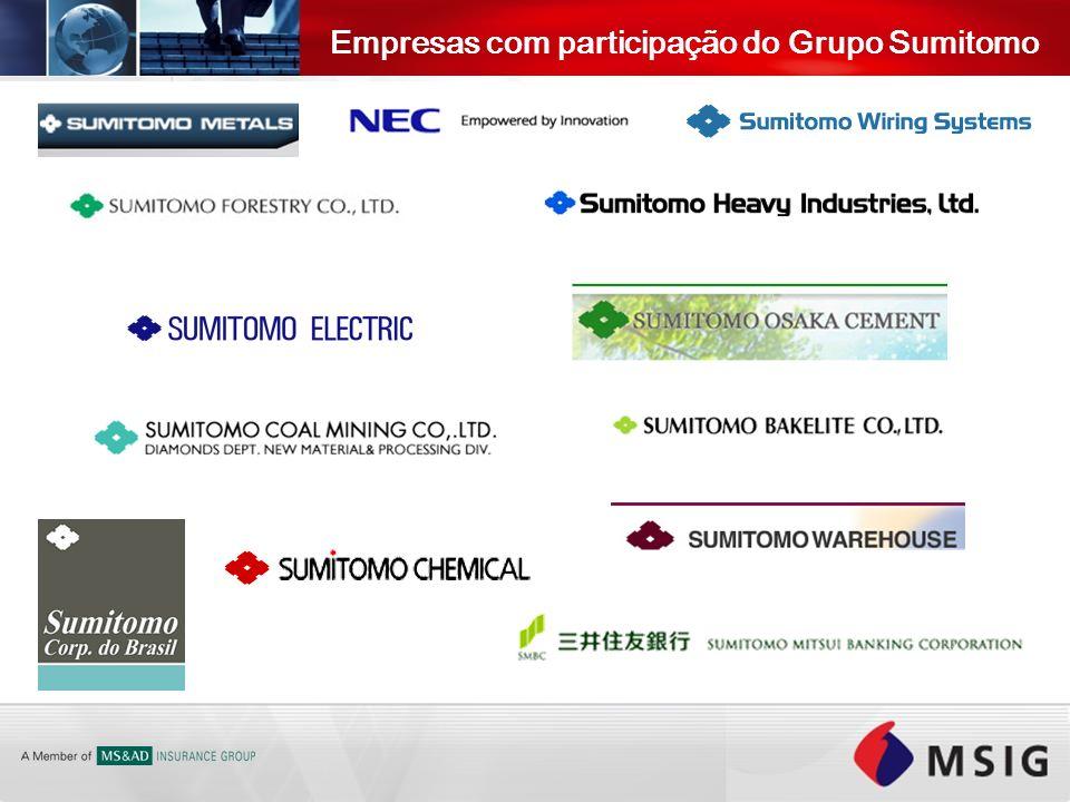 Empresas com participação do Grupo Sumitomo