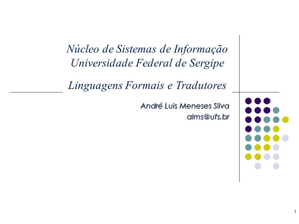 André Luis Meneses Silva alms@ufs.br