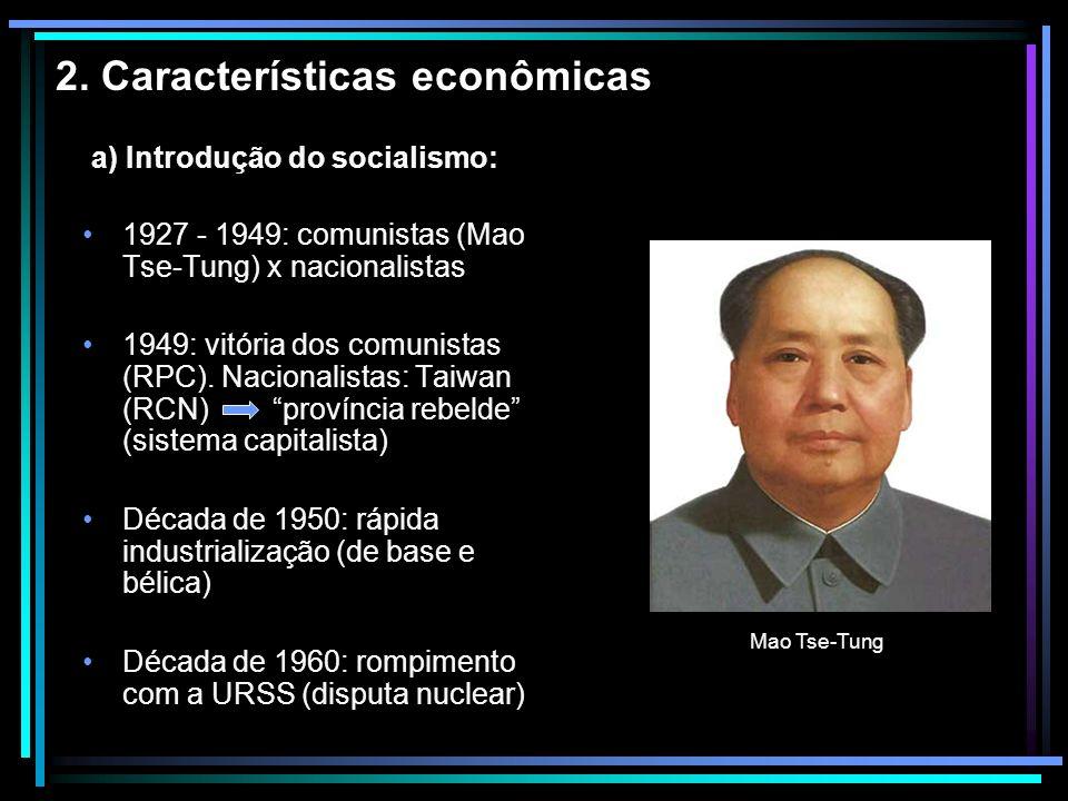 2. Características econômicas