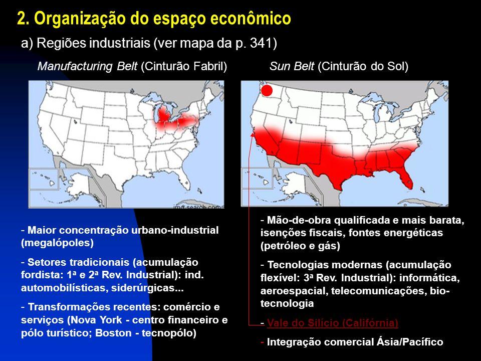 2. Organização do espaço econômico