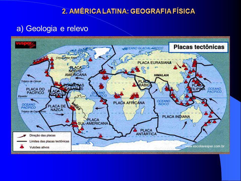 2. AMÉRICA LATINA: GEOGRAFIA FÍSICA