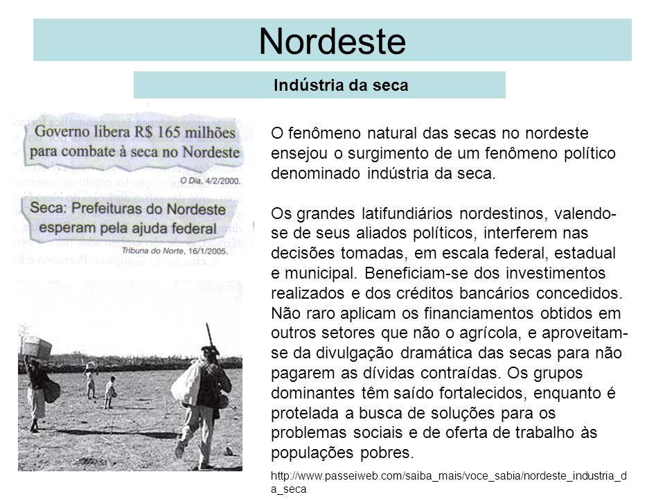 Nordeste Indústria da seca