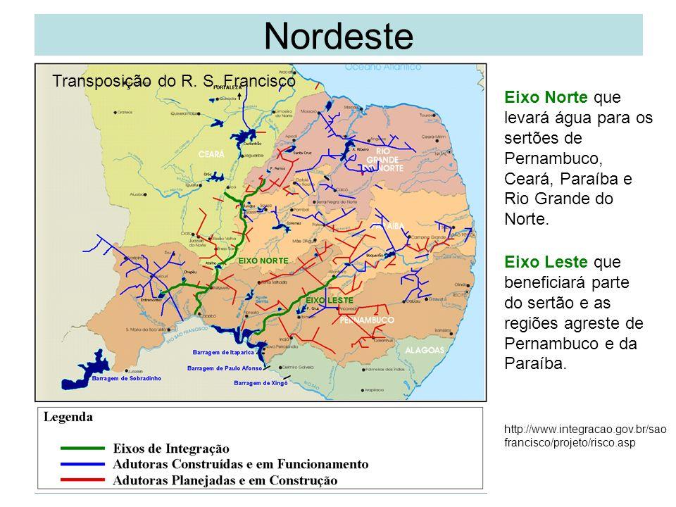Nordeste Transposição do R. S. Francisco