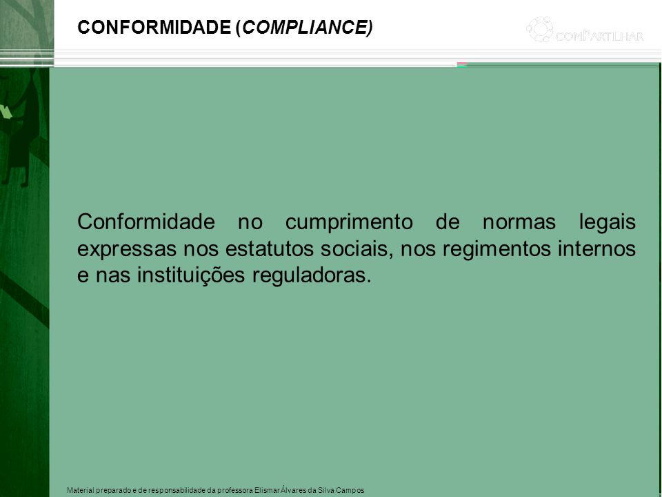 CONFORMIDADE (COMPLIANCE)