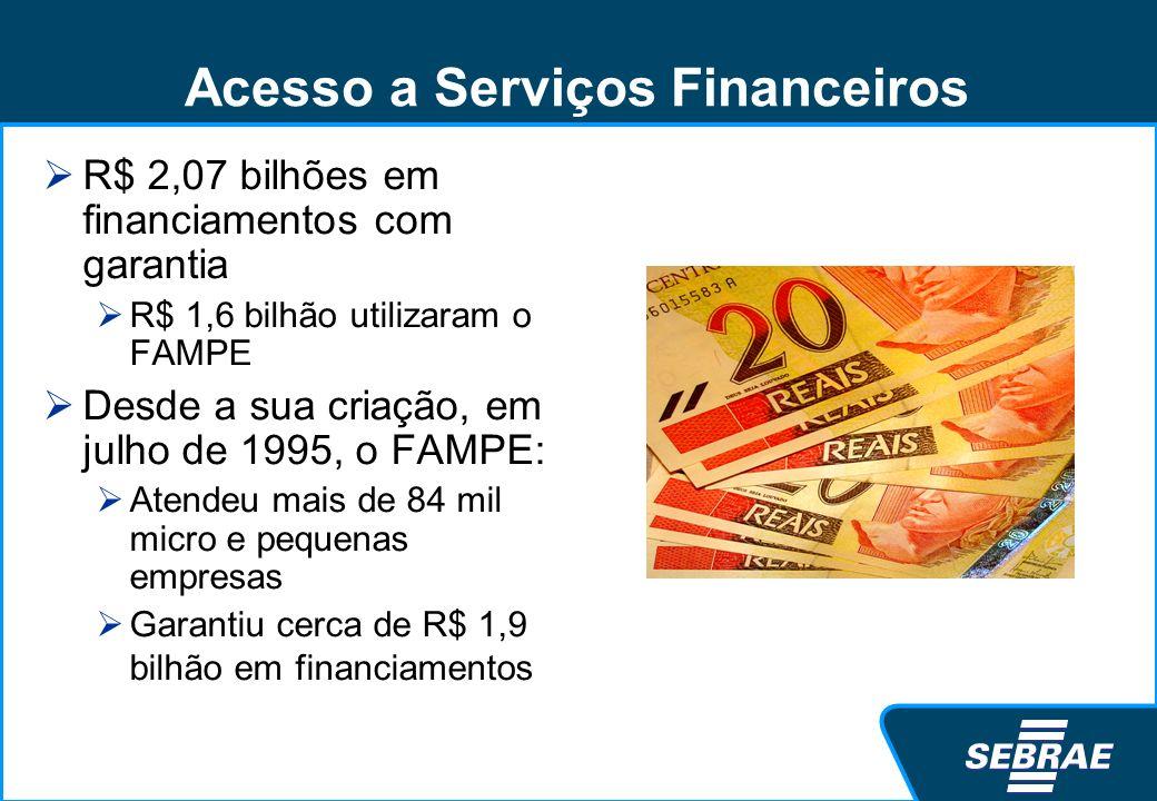 Acesso a Serviços Financeiros