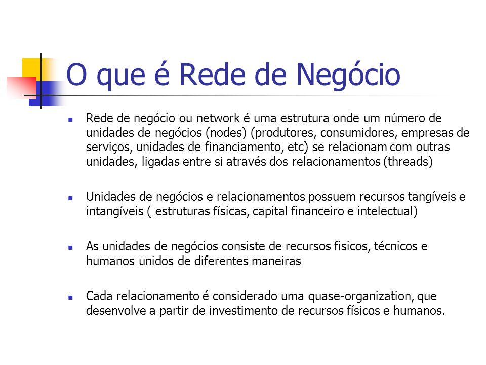 O que é Rede de Negócio