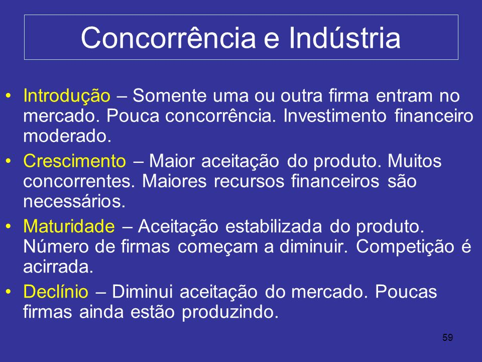 Concorrência e Indústria