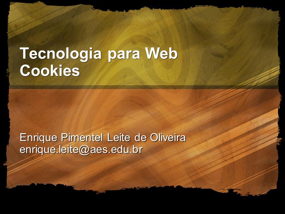 Tecnologia para Web Cookies