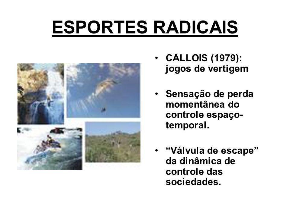 ESPORTES RADICAIS CALLOIS (1979): jogos de vertigem