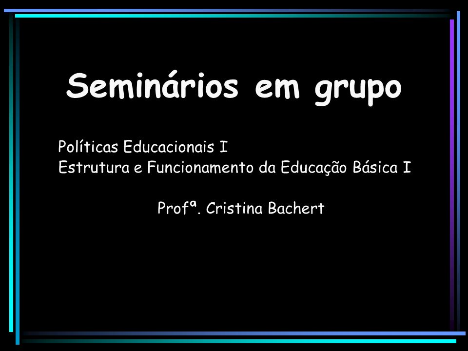 Profª. Cristina Bachert