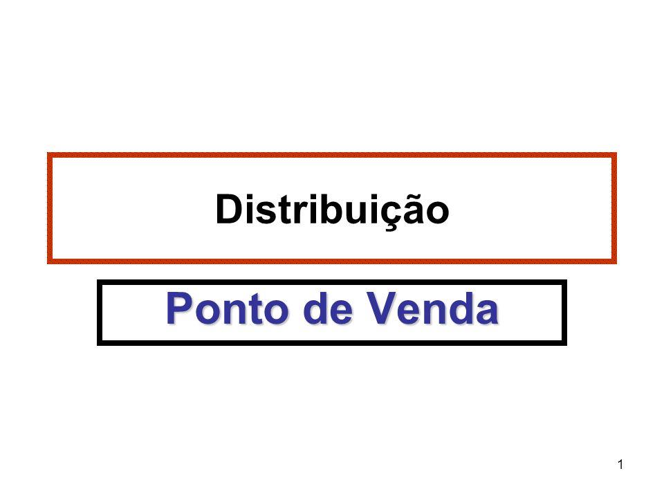 Distribuição Ponto de Venda