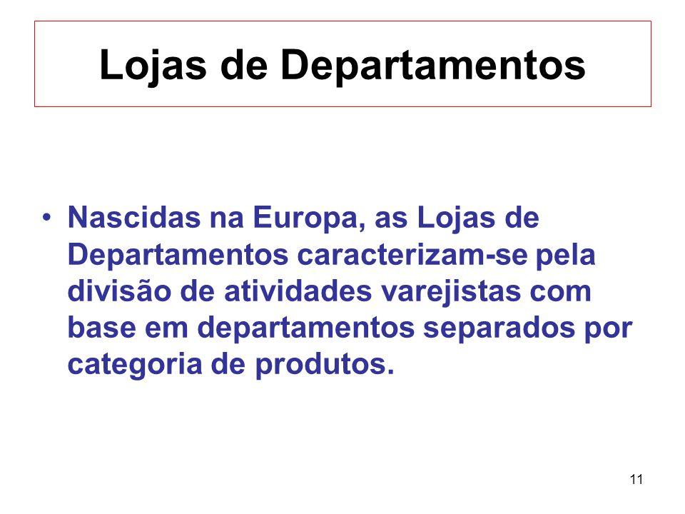 Lojas de Departamentos