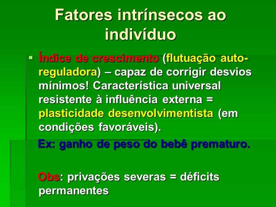 Fatores intrínsecos ao indivíduo