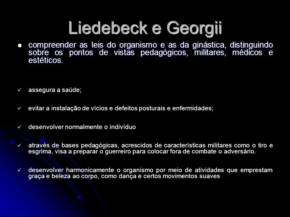 Liedebeck e Georgii