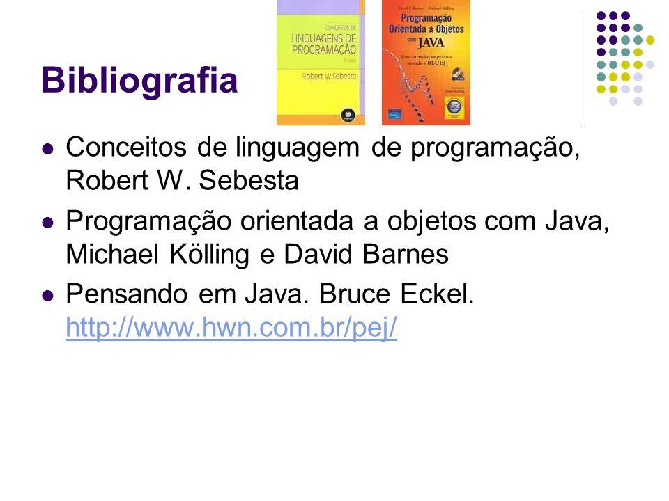 Bibliografia Conceitos de linguagem de programação, Robert W. Sebesta