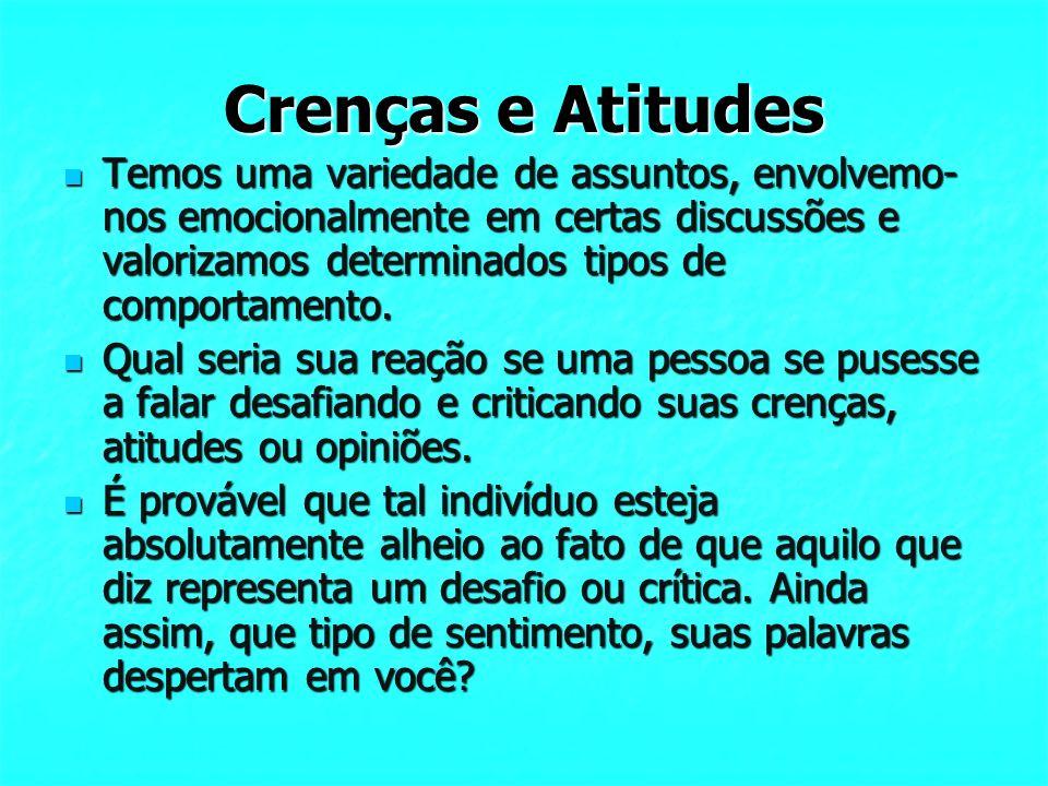 Crenças e Atitudes