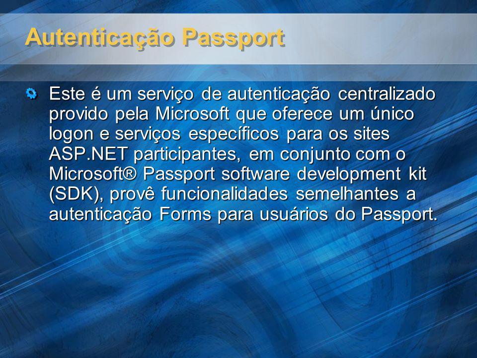 Autenticação Passport