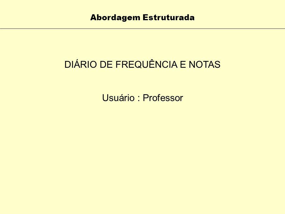 DIÁRIO DE FREQUÊNCIA E NOTAS