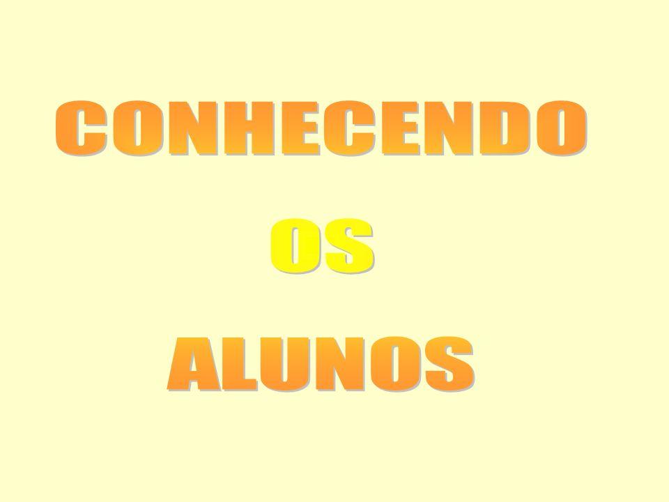 CONHECENDO OS ALUNOS