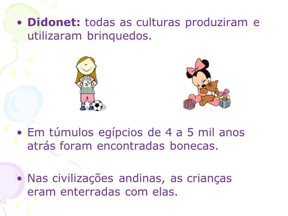 Didonet: todas as culturas produziram e utilizaram brinquedos.