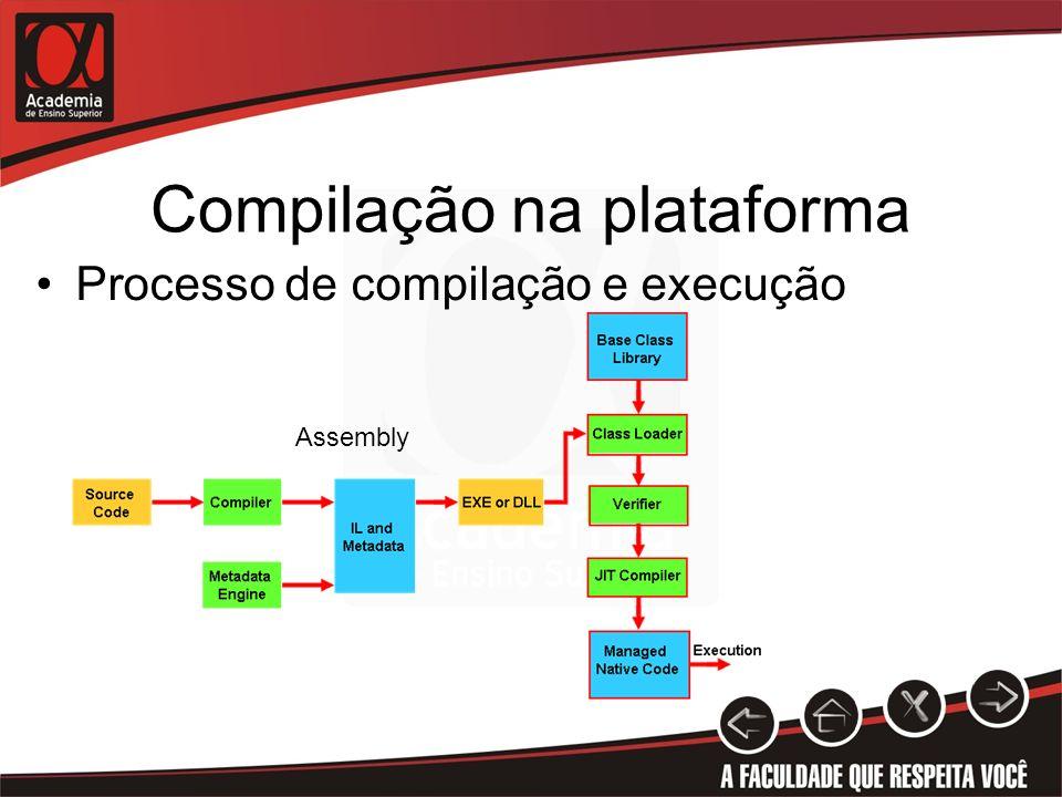 Compilação na plataforma