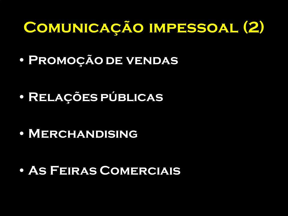 Comunicação impessoal (2)
