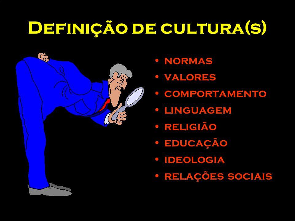 Definição de cultura(s)
