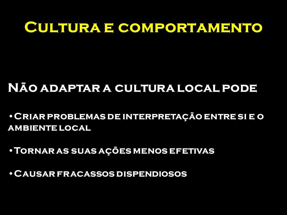 Cultura e comportamento