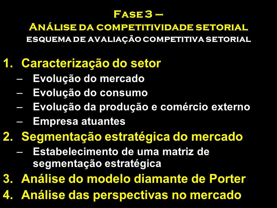 Caracterização do setor