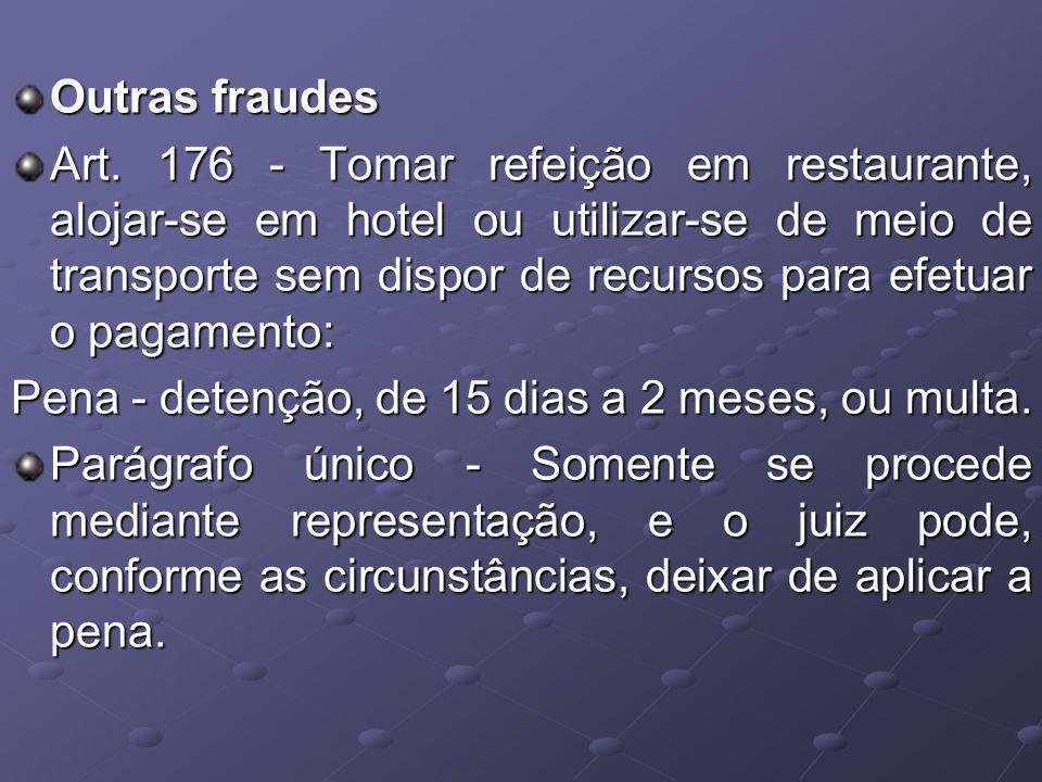 Outras fraudes