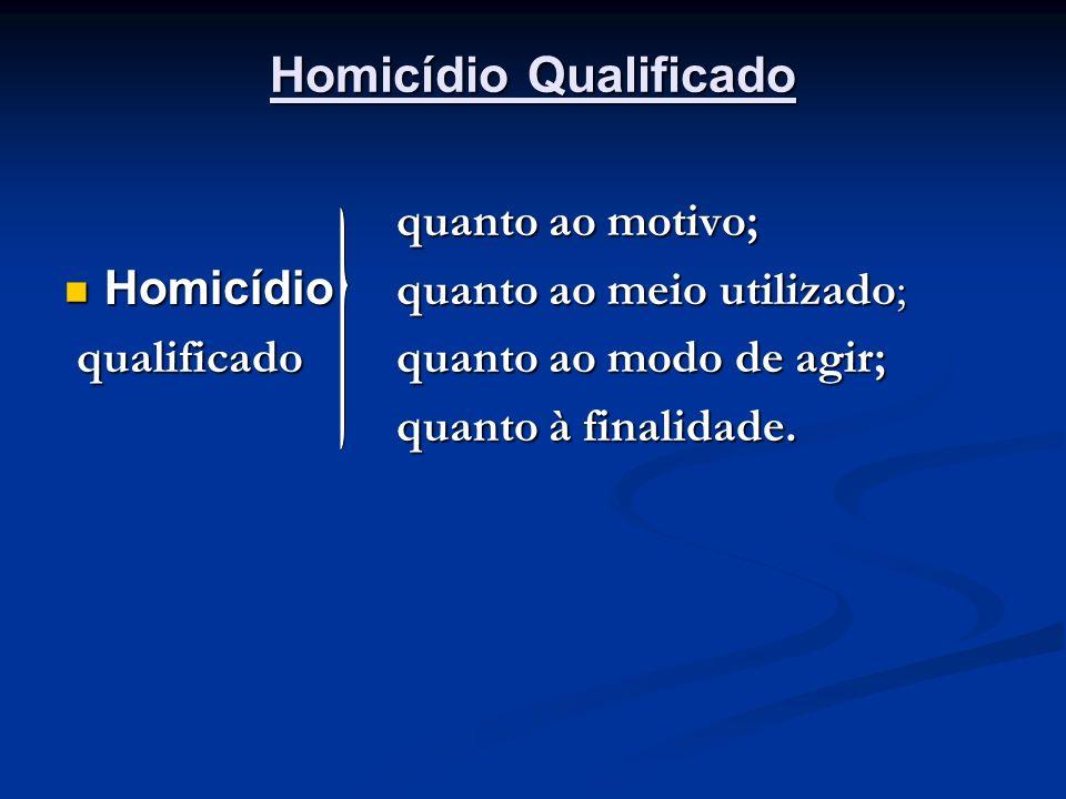 Homicídio Qualificado