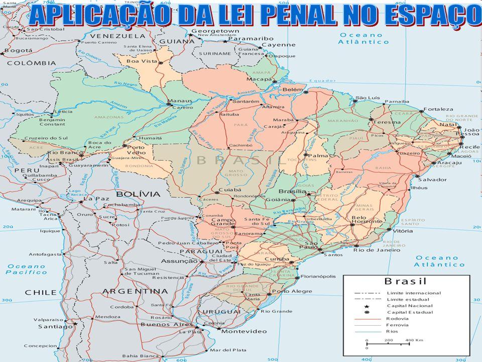 APLICAÇÃO DA LEI PENAL NO ESPAÇO