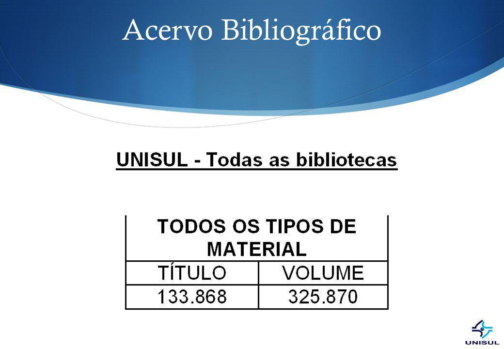 Acervo Bibliográfico