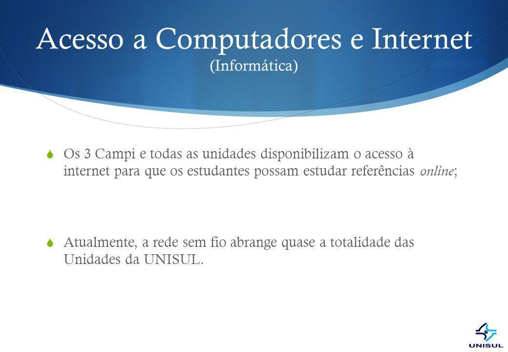 Acesso a Computadores e Internet (Informática)