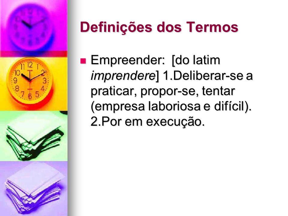 Definições dos Termos