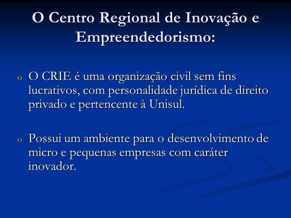 O Centro Regional de Inovação e Empreendedorismo: